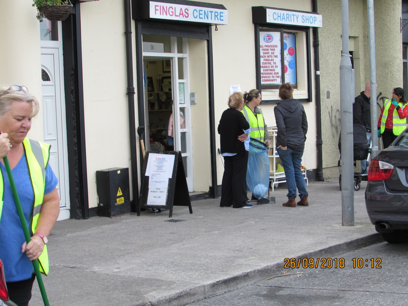 CLEANING UP THE FINGLAS AREA