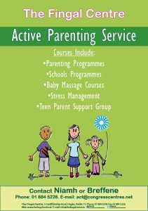 Active parenting poster