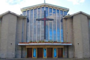 The Church of Annunciation in Finglas West final mass.